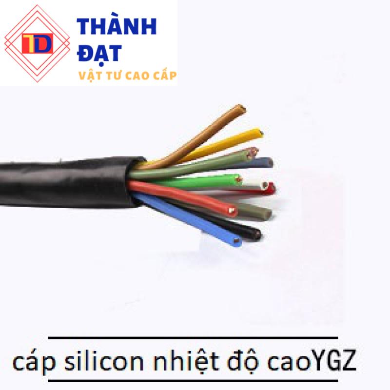 Cáp bọc cao su lõi silicon TCM YGZF