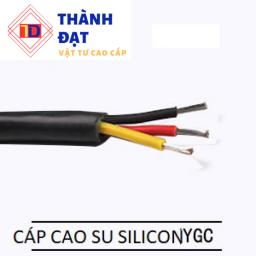 Cáp cao su silicon nặng YGC