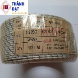 dây điện chịu nhiệt 1.25mm2