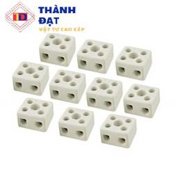 Đầu nối sứ domino